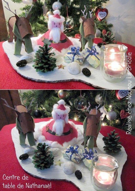 Noel for Cadeau de table pour noel