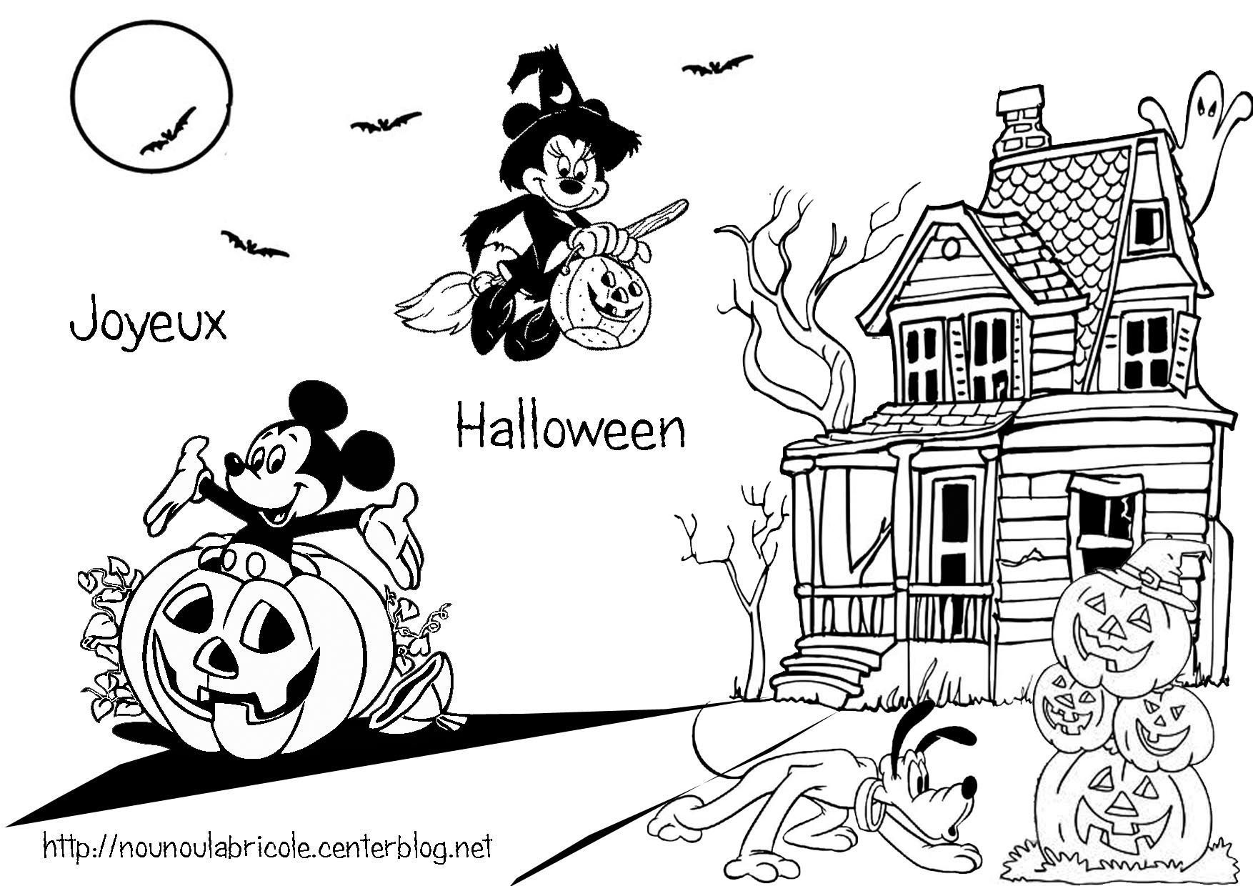 Coloriage halloween - Dessins a colorier gratuit ...